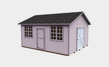 Free 16x20 shed plan pdf