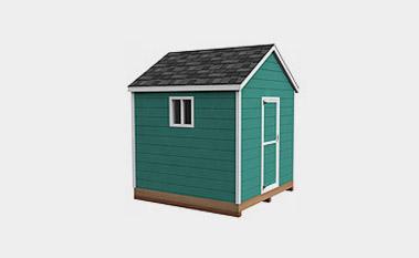 Free 8x8 shed plan pdf