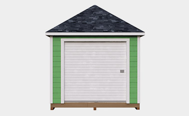 free 10x12 hip shed plan