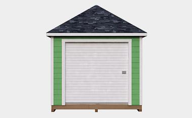 free 10x12 hip shed plan