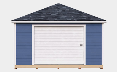 free 16x24 hip shed plan