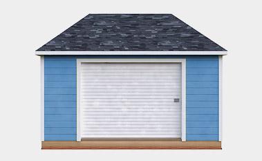 free 8x16 hip shed plan
